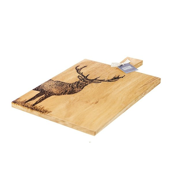 Large Monarch Stag Serving Paddle von Selbrae House